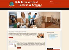 kkinternationalpackers.com