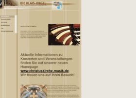 klaisorgel-christuskirche.de