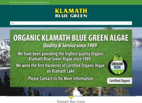 klamathbluegreen.com