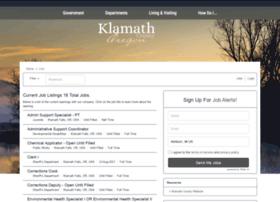klamathcounty.applicantpro.com