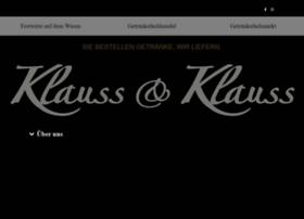 klauss-und-klauss.de