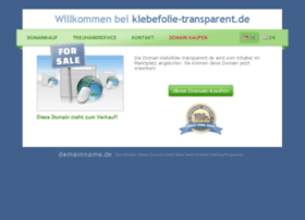 klebefolie-transparent.de