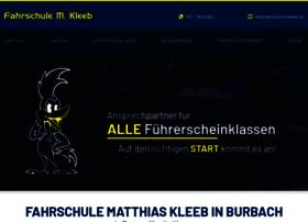 kleeb-fahrschule.de