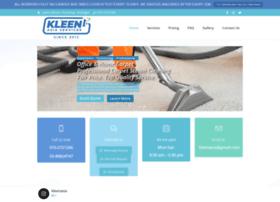 kleencarpetcleaning.com