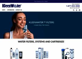 kleenwater.com