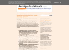 kleinanzeige-des-monats.blogspot.com