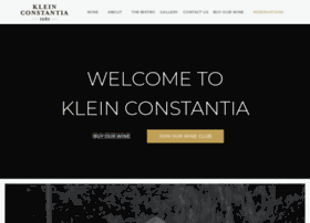 kleinconstantia.com