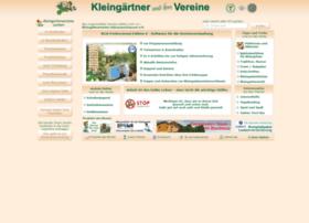 kleingartenvereine.de