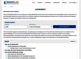 kleinkredit-2014.de
