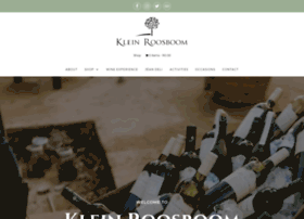 kleinroosboom.co.za