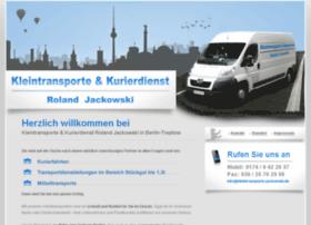 kleintransporte-jackowski.de
