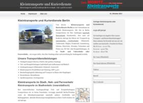 kleintransporte-kurierdienste.de