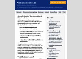 kleinunternehmer.de