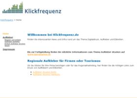 klickfrequenz.de