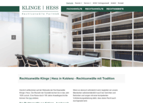 klinge-hess.de