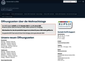 klips2-support.uni-koeln.de