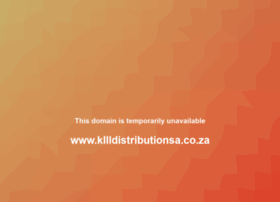 kllldistributionsa.co.za