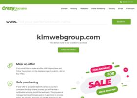 klmwebgroup.com