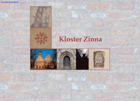 kloster-zinna.com