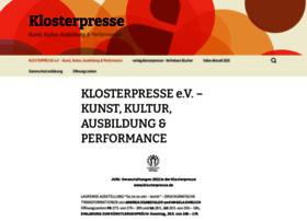 klosterpresse.de