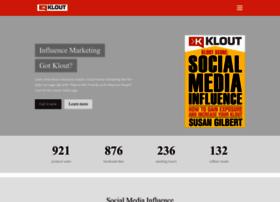 kloutscorebook.com