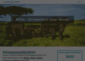 klueger-reisen.com