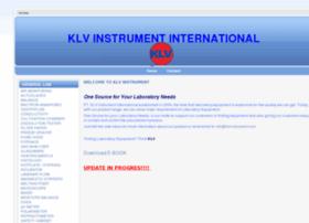 klvinstrument.com