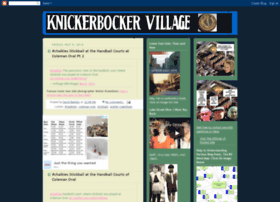 knickerbockervillage.blogspot.com