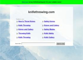knifethrowing.com