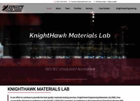 knighthawkmaterialslab.com