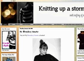 knitting-up-a-storm.blogspot.com