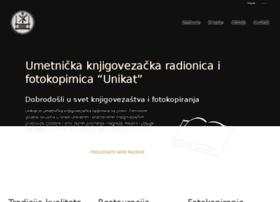 knjigoveznicaunikat.co.rs