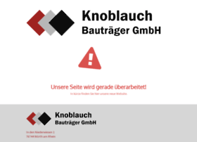 knoblauch-bautraeger.de