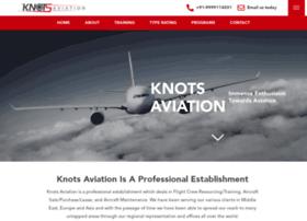 knotsaviation.com