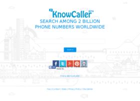knowcaller.com