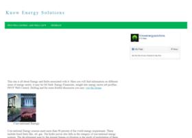 knowenergysolutions.com