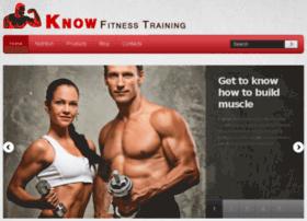 knowfitnesstraining.com