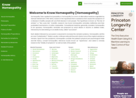 knowhomeopathy.com