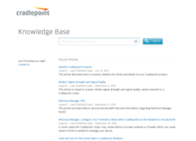 knowledgebase.cradlepoint.com