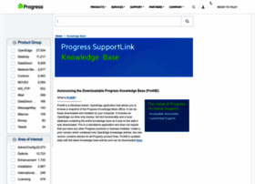 knowledgebase.progress.com