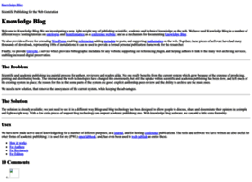 knowledgeblog.org
