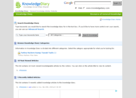 knowledgediary.com