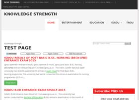 knowledgestrength.com