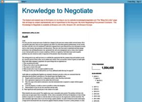 knowledgetonegotiate.blogspot.co.uk