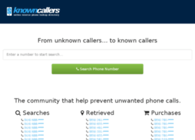 knowncallers.com