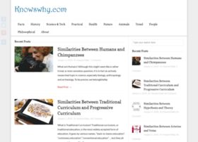 knowswhy.com