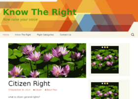 knowtheright.com