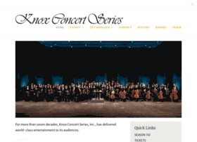 knoxconcertseries.org