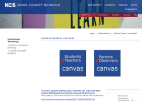 knoxschools.instructure.com