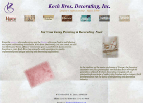 Kochbrosdecorating.com